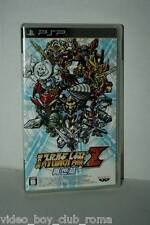 DAI-2-JI SUPER ROBOT WARS TAISEN Z GIOCO USATO SONY PSP EDIZIONE JAPAN 37266