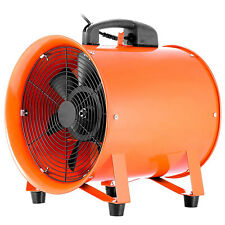"""12"""" Φ300mm Estrattore Ventilatore Aspiratore Industriale Motore Assiale 520W"""