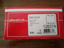 New Wheelock 126374 Dual Sync Module Dsm-12/24-R Original box and instructions