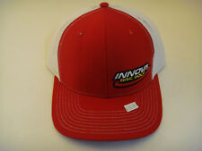 Innova Trucker Red & White Mesh Disc Golf Hat Adustable Snapback