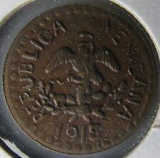 Mexico Revolution, 1915 Puebla, 2 Centavos 2Cc Tetela del Oro Y Campo