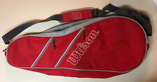New listing Wilson Red Tennis Bag