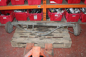 FORD CONNECT T200 1.8 D 2004 REAR AXLE 03-063906-1 / 03-063906