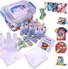 imoli Tie Dye Kit - 18 Vibrant Colours Fabric Textile Paints, Multiple