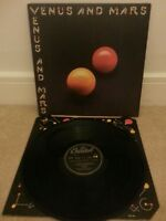 "Paul McCartney And Wings: Venus And Mars Porky Prime Cut 12"" Vinyl Album VG+"