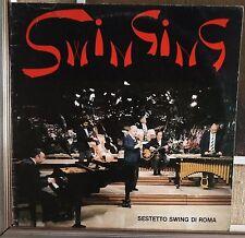 Italian Jazz-Sestetto Swing Di Roma-Swinging 2XLP 1985 Roberto Pregadio