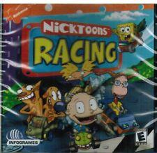 Nicktoon Racing PC Game Brand New 2001 Nickelodeon Rated E SpongeBob Squarepants
