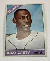 1966 Topps # 153 Rico Carty Baseball Card Atlanta Braves