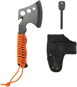Tactical Tomahawk Throwing Fixed Blade Axe Hatchet Camping Survival Knife