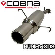 Cobra Sport Vauxhall Corsa C 1.2 1.4 Stainless Steel Rear Exhaust Box