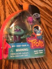 DreamWorks Trolls Branch Ramon Collectible  Figure with Critter Blue New Hasbro