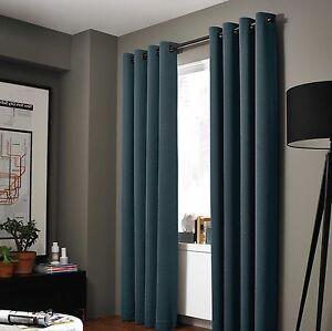 2 Panels ADAM 100% ROOM DARKENING Blackout Window Curtain GUARANTEE