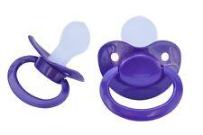 "+++++  Adult Big Pacifier  ""Violet""  SILICON  Size 6  - Nr. ASP-Violet S6  +++++"