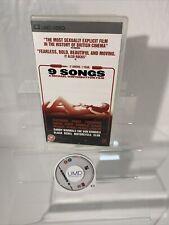 9 Songs PSP UMD Movie