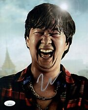 KEN JEONG Signed THE HANGOVER Mr. Leslie Chow 8x10 In Person Autograph JSA COA