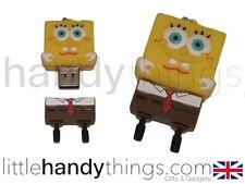 Dessin animé SpongeBob 8 go usb flash drive portable Stylo Lecteur Mémoire Stockage Cadeau