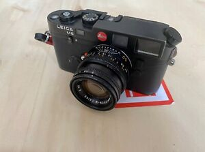 Leica M6 and Summicron M 50mm lens