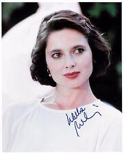 Isabella Rossellini Authentic Signed 8x10 Color Glossy Photo Blue Velvet COA