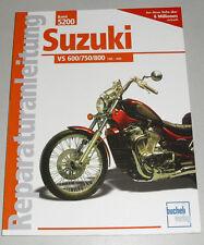 Reparaturanleitung Suzuki VS 600 / 750 / 800 Intruder – ab Modelljahr 1985