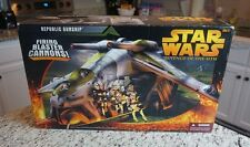 Republic Gunship 2005 STAR WARS Revenge of the Sith ROTS MIB