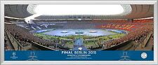 2015 UEFA Champions League Final Framed Panoramic Line Up