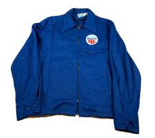 Me and my RC Work Jacket Vintage Blue Medium Riverside Masterbilt Rare USA