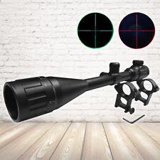 Reflex Crosshair Reticle Illuminated Riflescope Adjustable Objective 6-24X50AOEG