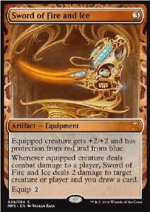 Epée d'eau et de feu PREMIUM / FOIL -  Sword of Fire and ice - Invention mtg