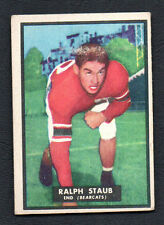 1951 Topps Magic Ralph Staub #39 Football Card EX