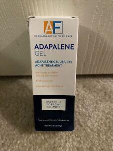 AcneFree Adapalene Gel Retinoid Acne Treatment 0.5oz NEW! Exp 09/2021