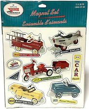 Vintage Hallmark Murray Kiddie Car Classics Magnet Set 1999