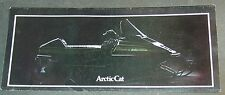 "1981 Arctic Cat Snowmobile Sales Brochure 4"" x 9"" (730)"