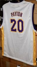 Vtg Gary Payton LA Lakers Reebok Jersey Youth XL 18-20, White