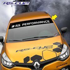 1234 Sticker RS PERFORMANCE RENAULT SPORT Clio Megane noir blanc megane clio