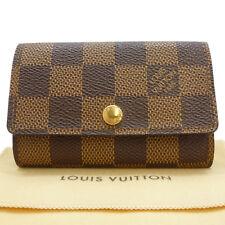 Authentic LOUIS VUITTON Multicles 6 Key Holder Case Damier Ebene N62630 #S204005