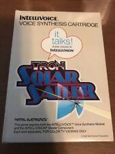 Vintage Intellivision/Intellivoice Game Tron Solar Sailer Mattel Electronis '82