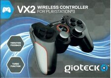 Ps3 PlayStation 3 Gioteck vx-2 Wireless Controller mercancía nueva
