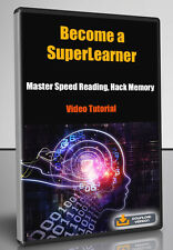 Become a SuperLearner 2.0 Master Speed Reading, Hack Memory - Video Tutorial