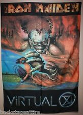 IRON MAIDEN Eddie Virtual 11 XI Cloth Fabric Poster Flag Tapestry Banner-New!!