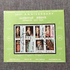 """Complete Set Vintage 1979 Ajman, UAE """"500th Anniversary Albrecht Durer"""" Stamps"""