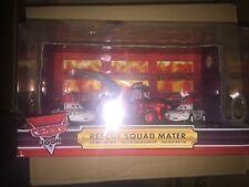 Disney Pixar Cars Toon RESCUE SQUAD MATER Box Set Mater Mia Tia Comic Con 2009