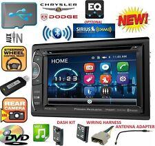 2009-2012 DODGE RAM DVD CD USB AUX BLUETOOTH Car Radio Stereo OPTIONAL SIRIUSXM