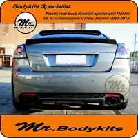REAR BOOT DUCKTAIL SPOILER WING-HOLDEN VE SERIES II CALAIS/BERLINA 2010-13/811