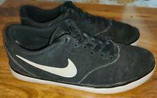 New listing Nike SB UK 6 Check Skater Shoe Trainer Black Suede US 7 EU 40 705265 006