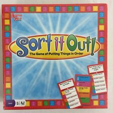 NEW Sort It Out Australian Family Party Board Game of Putting Things in Order
