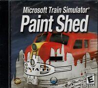Microsoft Train Simulator Paint Shed Pc Brand New
