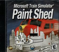 Microsoft Train Simulator Paint Shed Pc Brand New