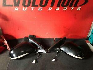 2004 - 2008 Black Acura TSX OEM Power/Heated Mirrors (PAIR)