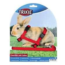 Trixie Kaninchen-garnitur mit Leine Schnappverschlüssen Vierbeiner Meerschwein