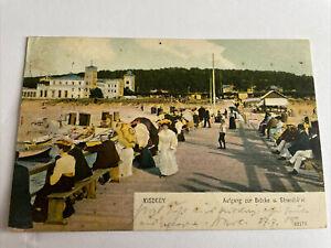 Misdroy Wollin Powiat Kamienski - Strandhotel 1905